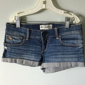 Jean abercrombie shorts